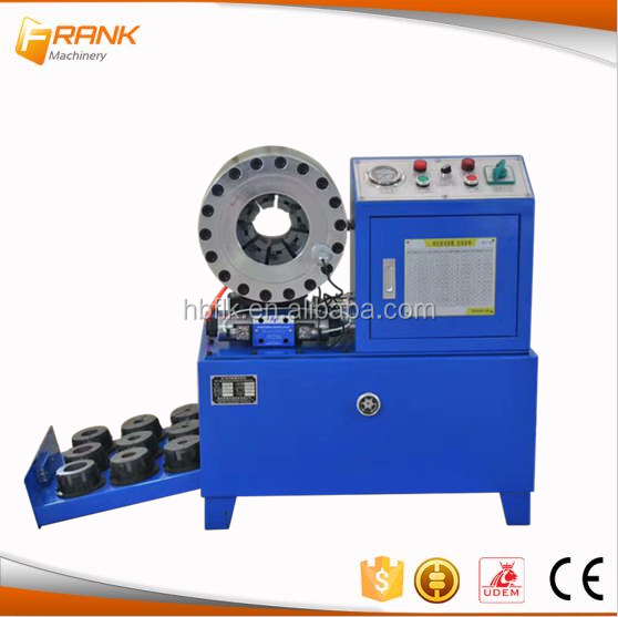 China factory hose crimping press/hose crimping machine use for tube