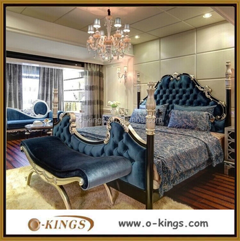 Latest design customized french style hotel bedroom for What is a french bed in a hotel