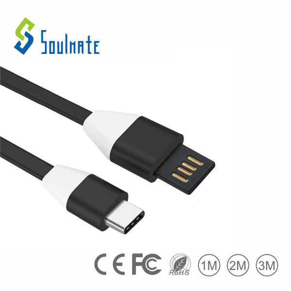 China USB cables factory wholesale data charging cable usb type-c cable for smart phone