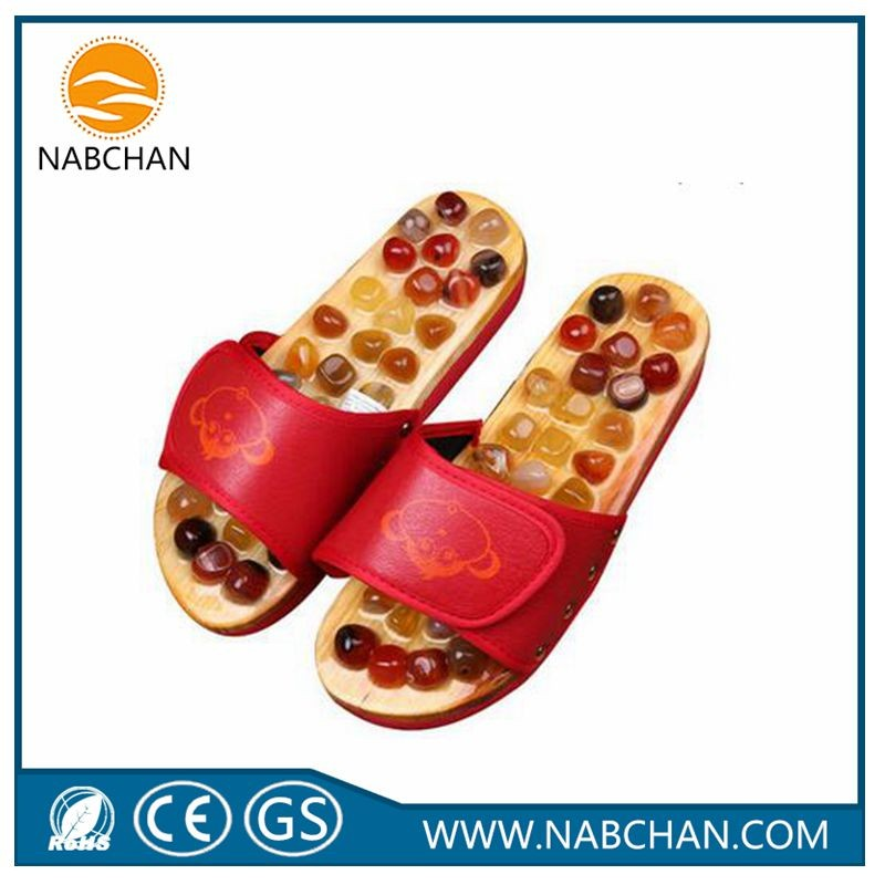 Foot Massage Slipper Health Care Natural Stone Massage Slippers ...