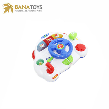 Children Musical Driving Toy Steering Wheel For Car Seat - Buy Toy ...