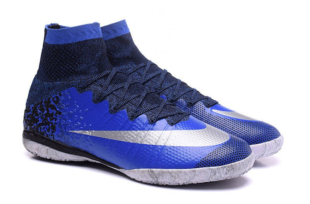 b54782efa80d Get Quotations · Kareorid Shoes Mens Mercurial Superfly CR7 IC Football  Soccer Boots