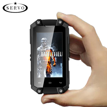 mini android smartphone IP65 waterproof mobile Phones cheap price