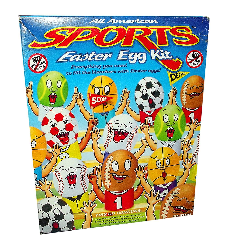 All American Sports Easter Egg Kit