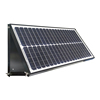 40W Adjustable Wall Mounted Solar Attic Fan for House