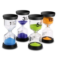 Kids Colorful Sand Timer 3 5 7 minute Hourglass