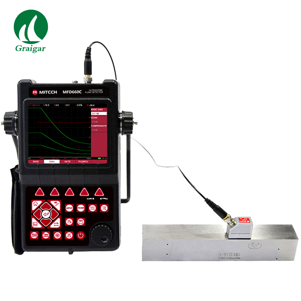 MFD660C Intelligent Digital Ultrasonic Flaw Detector NDT Test Equipment