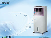 Office Electric Air Cooler With Tempered Glass Cover