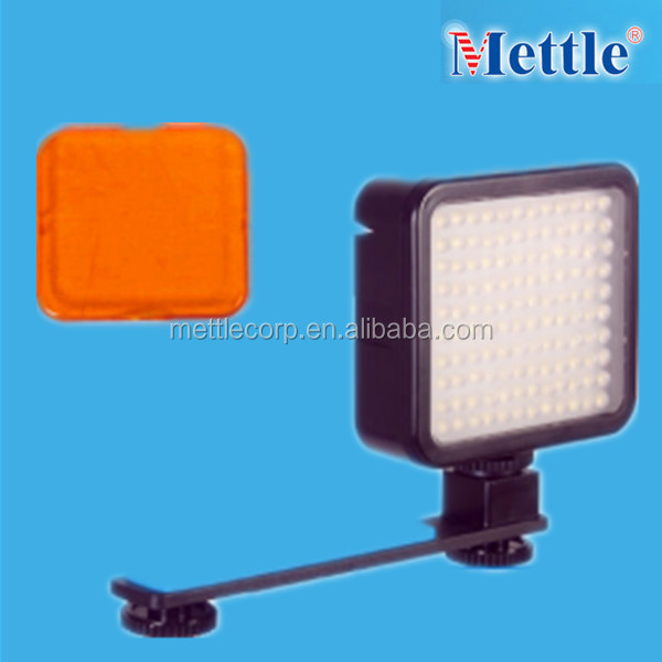 good quality LED video light for photographic equipment1.8w 190LM