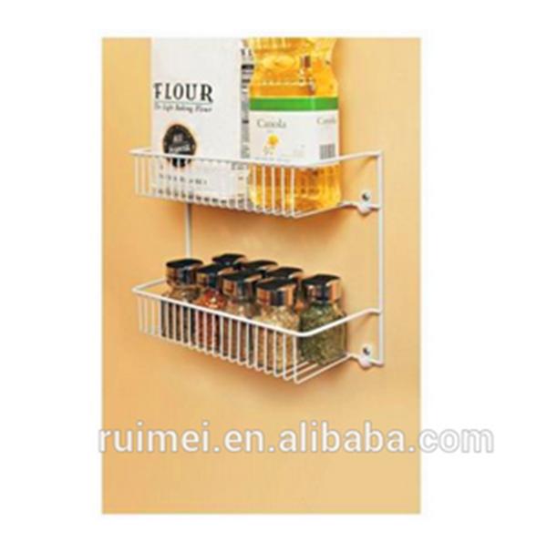 Food Storage Door Pantry Organizer Kitchen Spice Rack Set