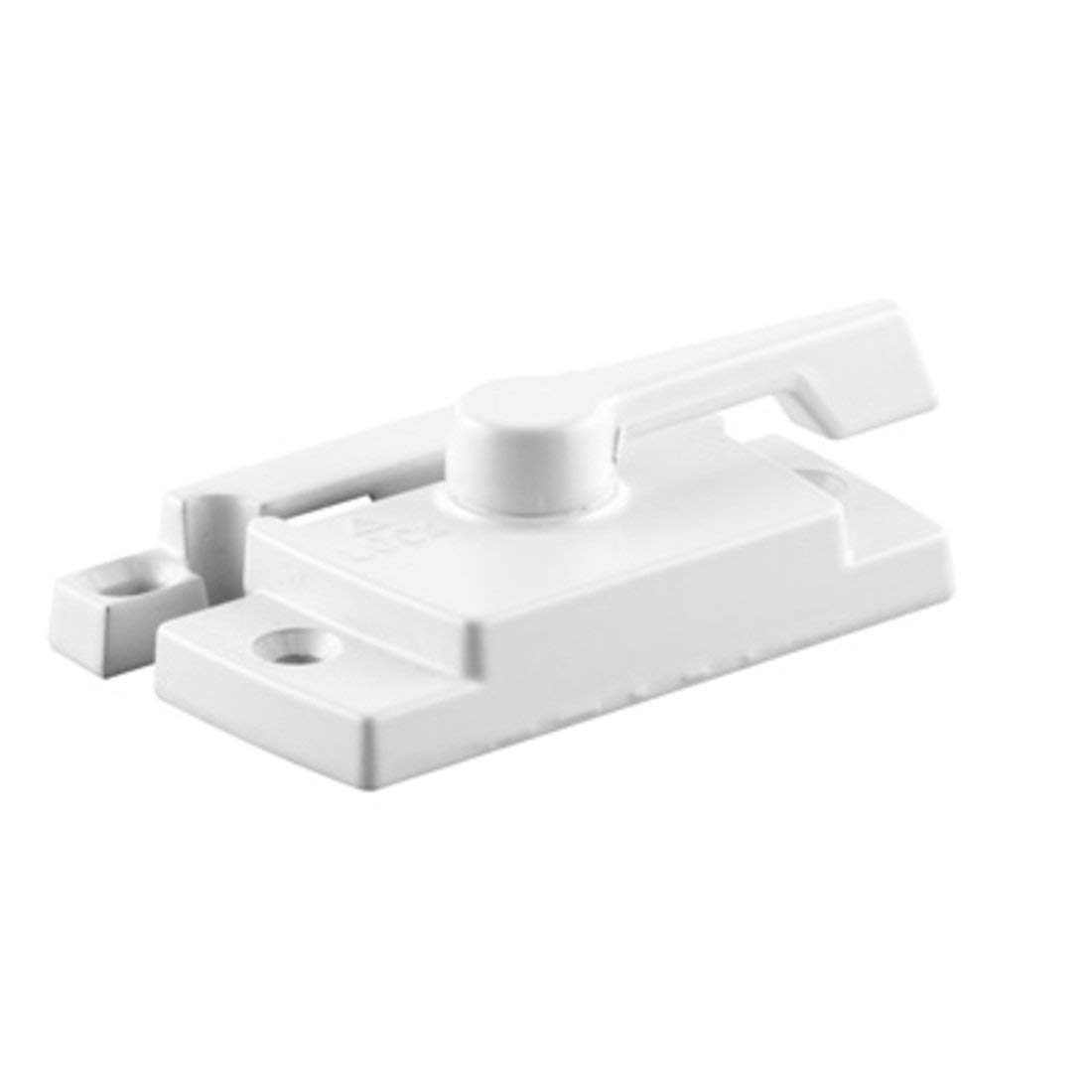 C.R. LAURENCE TH23087 CRL White Sash Lock With Lugs- 11/16 Backset 2-1/16 Mounting Holes by C.R. Laurence