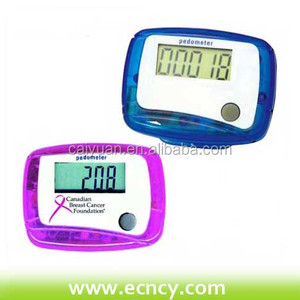 Multifunctional pedometer with clip easier to carry