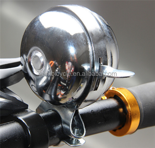 wholesale Bicycle bell steel silver retro bell