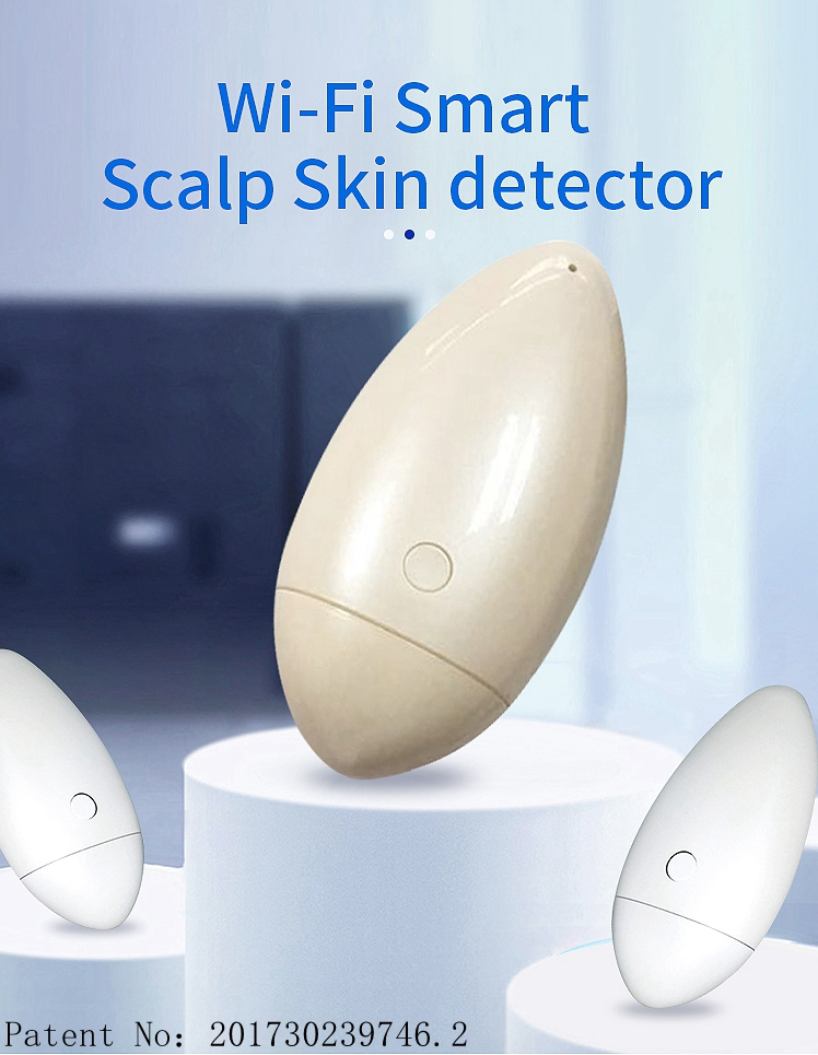high quality beauty skin tool wifi wireless dermatoscope, wireless medical dermatoscope video digital dermatoscope