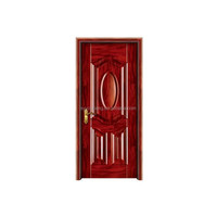 American style steel safety door design