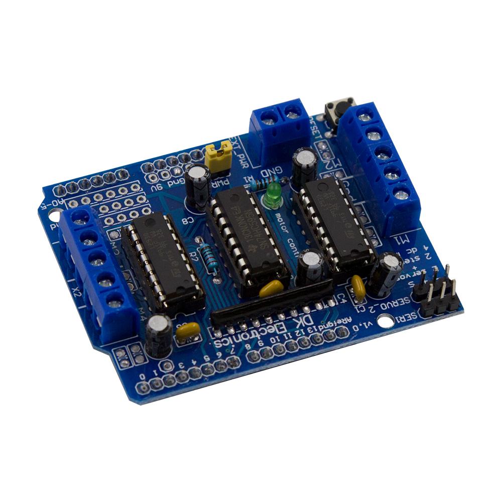 A4988 Stepper Motormotor Driver Modulehot Sale Motor Circuit Drive L293d Board Control Shield Module Expansion For Mega2560 4