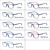 new model TR90 promotional classic customize colorful stock lot optical eyeglasses frame