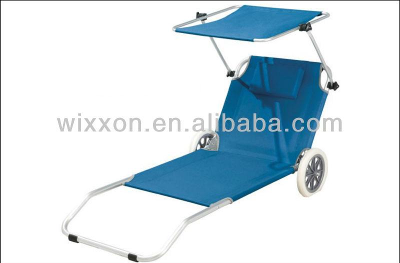 cbba9f09e17 Folding Beach Lounger