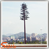 Beautiful plant type and fiberglass material steel communication tower of artificial communication trees