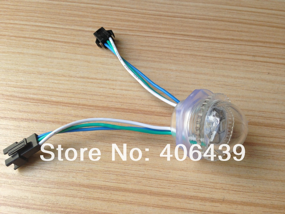 26mm Diameter full color WS2811 programmable rgb led pixel light