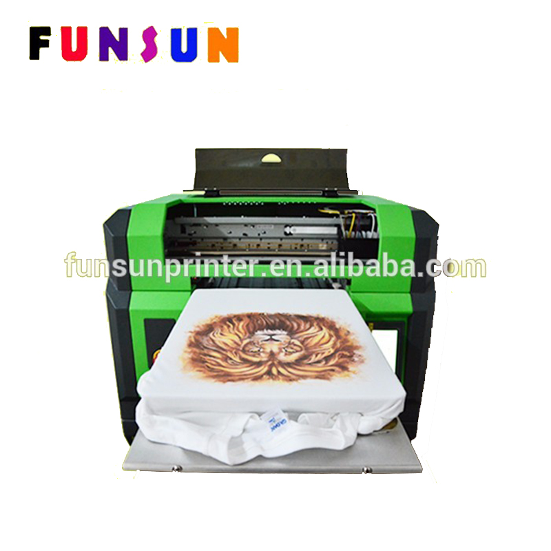 Dtg Multifunction A3 Size Dx5 Head A4 3 2 Dtg Direct To Garment T-Shirt Printer