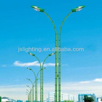 Q235 Steel Galvanized Green Bamboo Light Pole Led Street Light ...