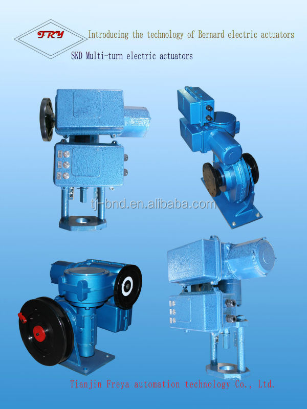 electric actuator rising stem gate valve electric gate