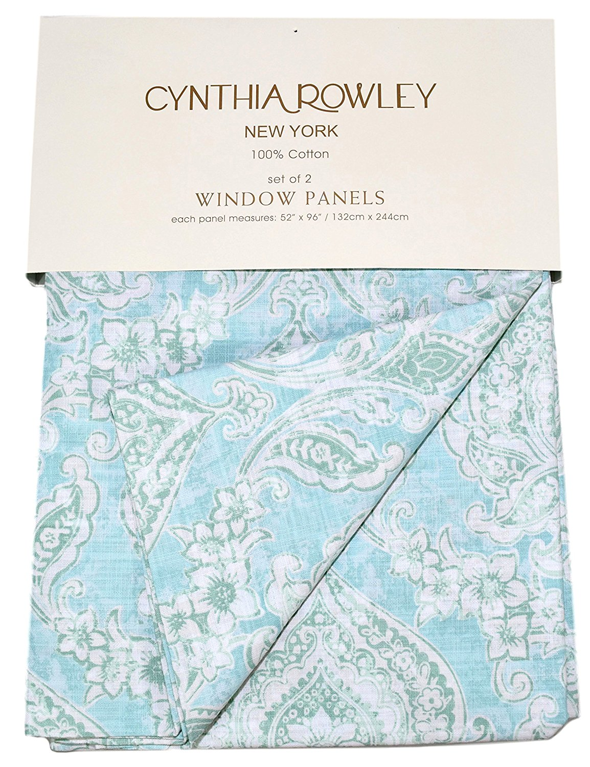 window tab green curtains blue panels medallion geb drapes importhubviewitem tropical rowley cynthia