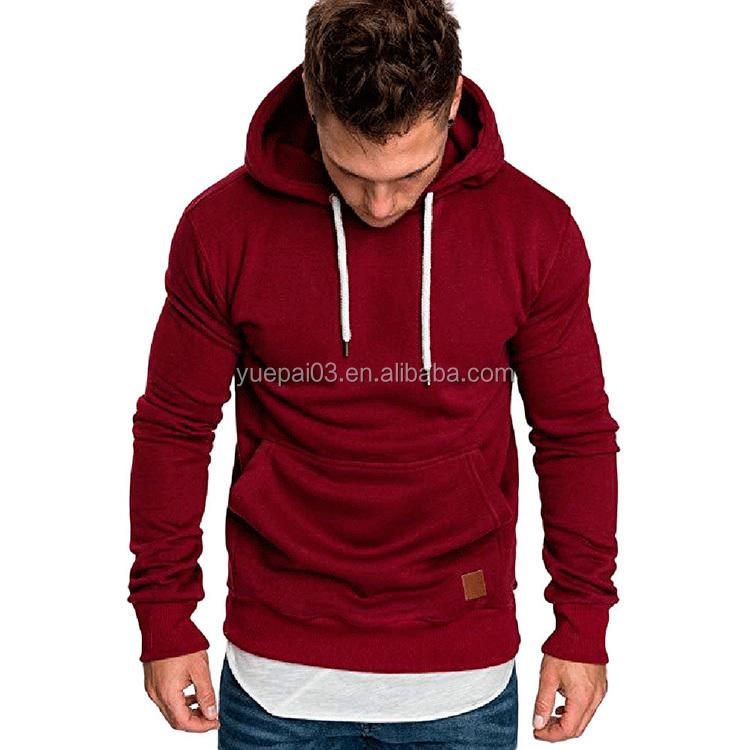 Sweatshirt Men Hoodies Male Long Sleeve Solid Hoodie Men Big Size poleron Hombre