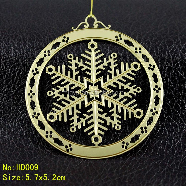 Wholesale Metal Christmas Gifts Christmas tree hanging ornament