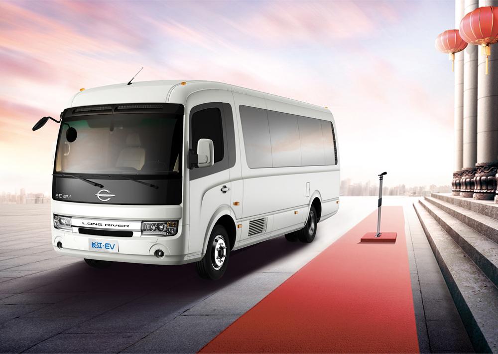 New Energy Electric Cars : Mini County Bus / Minibus / Passenger Van Bus,15 + Passenger Seats ...