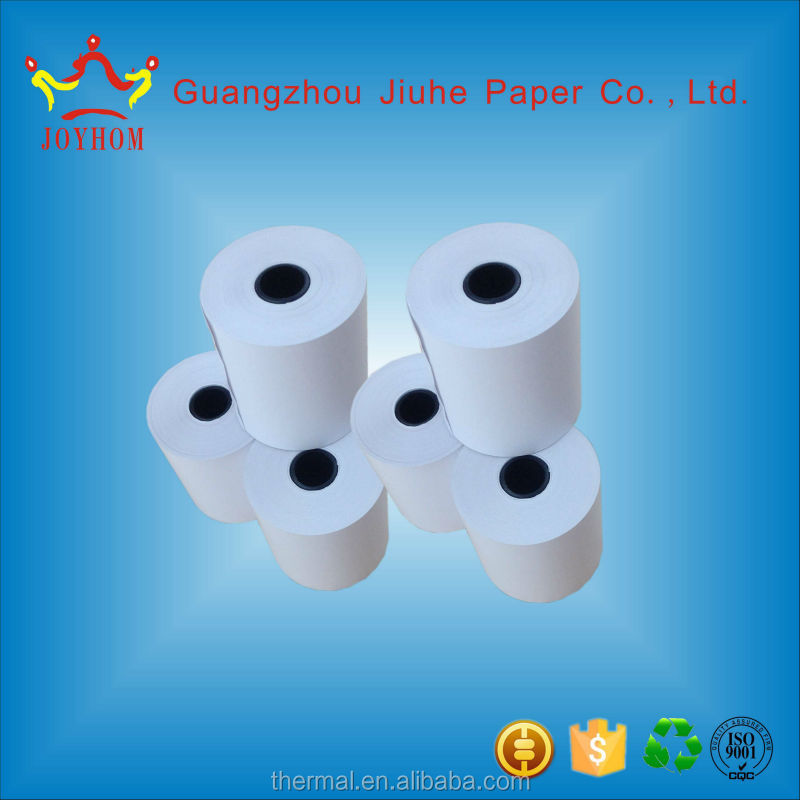 customized printed cash register thermal paper receipt rolls 80mm*70mm