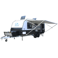 ECOCAMPOR Australian Standards Towed Off Road Camping Caravan Trailer