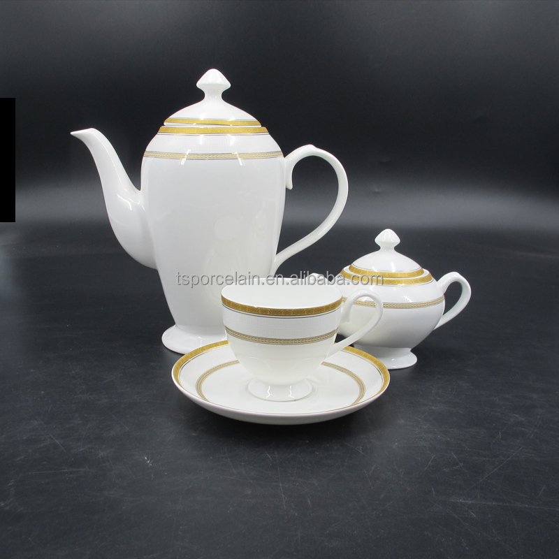 gift box fine <strong>porcelain</strong> russia style 14pcs <strong>tea</strong> <strong>set</strong>