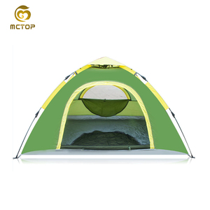 Waterproof 2-3 People Automatic Instant Pop Up Tent Green Camping Hiking outdoor Tent