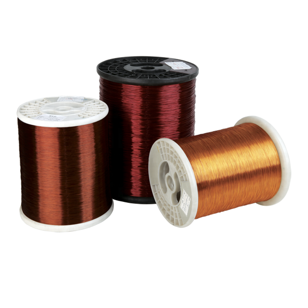 China factory electric enameled winding round aluminium <strong>wire</strong> in coil
