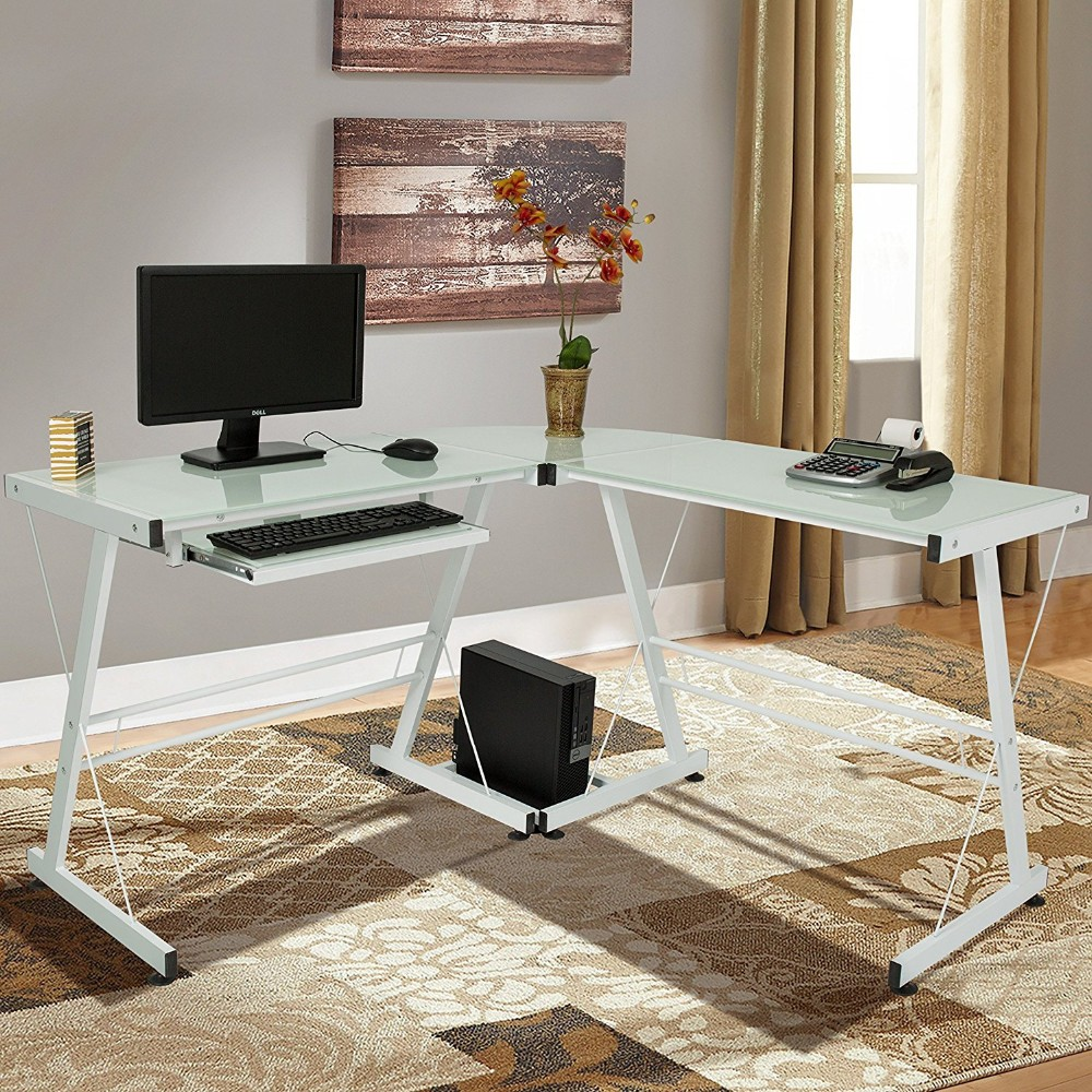 cheap office tables. Cheap Office Table Executive Ceo Desk /Glass Laptop Workstation Corner Home Tables I