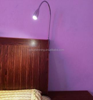 Led Gooseneck Flexible Bed Headboard Reading Lights