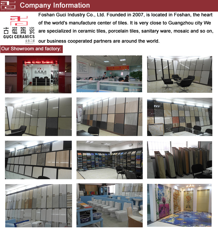 Foshan guci 3d flooring for porcelain bathroom tile 3d ceramic tile flooring
