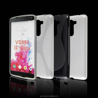 New Arrival Rubber TPU Phone Case For LG G VISTA VS880 Silicone Skin Soft Case