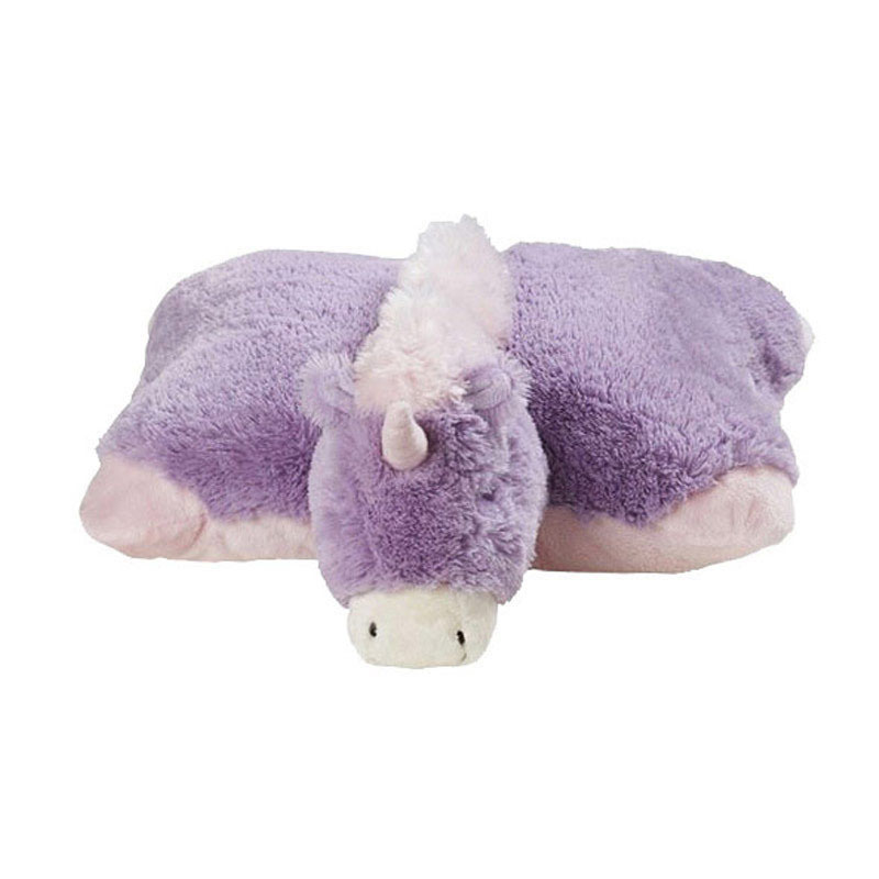 Unicorn pillow Stuffed <strong>Animal</strong> And Throw pillow, Large 19-Inches super soft