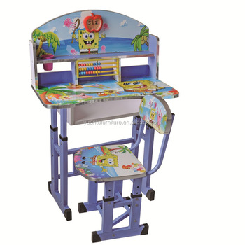 Cheap Factory Price Children Study Table And Chair Set,Kids Study ...