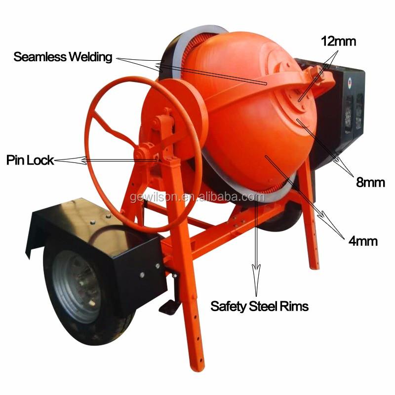 Electric portable motor mini concrete mixer buy mini for Cement mixer motor for sale