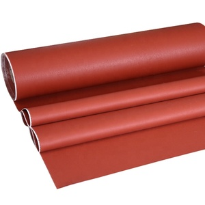 Heat Resistance fireproof silicone rubber coated fiberglass cloth