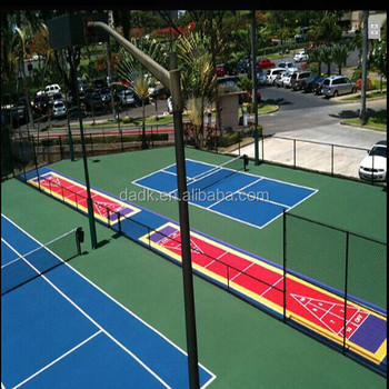 Easily Constructed Portable Shuffleboard Courts Flooring ...