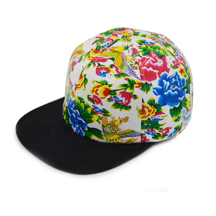 6 Panel Cool Cheap New Sublimation Snapback Hat