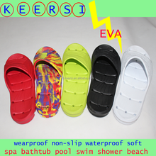 EVA Slide Sandal Bath Shower Spa Pool Slippers