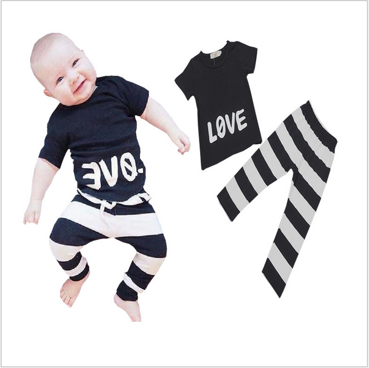 S31098W Summer new design smocked baby shirt pants set