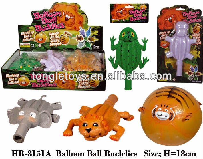Inflatable rubber balloon toys for kids