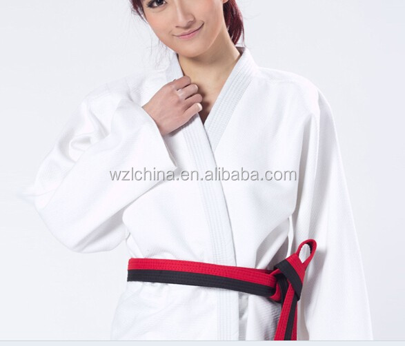 Popular sell high quality absorption durable karate suits uniform for kids
